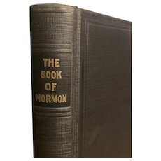 Vintage 1920 BOOK OF MORMON Religious Religion South Park