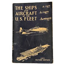 1944 Ships & Aircrafts of US Fleet by James Fahey Military Booklet Gemsco WWII Illustrated