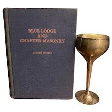 1944 FREEMASONRY Book Blue Lodge Secrets Rituals Cult Ceremonies