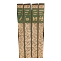 Vintage Limited Editions Club Book Set GRIMM'S FAIRY TALES Illustrated SIGNED Lucille Corcos Slipcase LEC