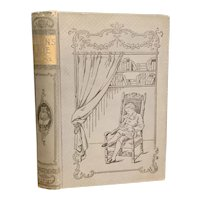 Antique 1900 ROBIN'S RIDE by Ellinor Davenport Adams Children's Book Fine Binding Illustrated