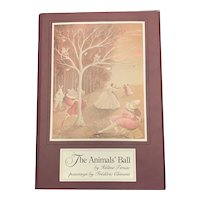 First Edition 1983 THE ANIMALS' BALL by Helene Tersac Illustrated Frederic Clement Rare Children's Book