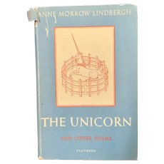 1956 THE UNICORN by Anne Morrow Lindbergh First Edition