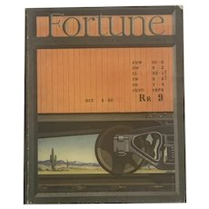 May 1939 FORTUNE Magazine Vintage Ads