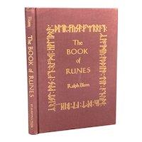 1983 Book of Runes by Ralph Blum St. Martin's Press Greek Norse Gods