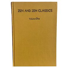 Vintage Book Zen and Zen Classics by R. H. Blyth Religious Meditation Japan Spiritual