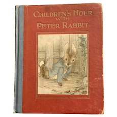 "Vintage ""Children's Hour with Peter Rabbit"" Illustrated"