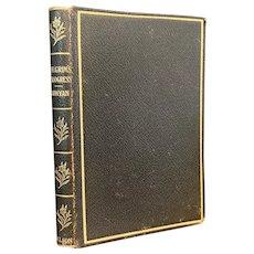Antique Book Pilgrim's Progress by John Bunyan Leatherette