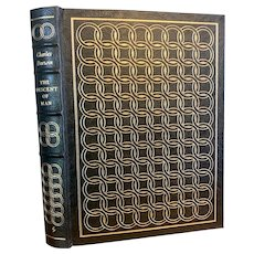 Easton Press DESCENT OF MAN by Charles Darwin Leather Bound Illustrated SEX Evolution