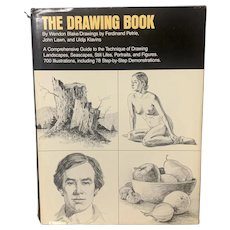 1980 THE DRAWING BOOK by Wendon Blake Stated First Printing Art Instruction