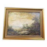 Eden Blakelock 1902-1998, Landscape Oil