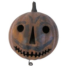 1904 Tin Halloween Parade Lantern