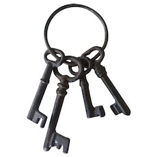 Antique Middle Age Keys