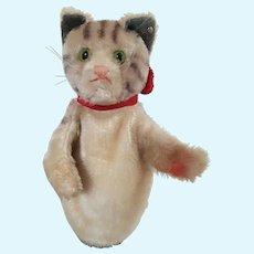 Vintage Steiff Cat Hand Puppet