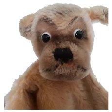 Vintage Steiff Dog Hand Puppet - Mopsy
