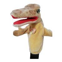 Vintage Steiff Alligator Hand Puppet - Gaty