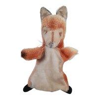Vintage Steiff Fox Hand Puppet - Smardy