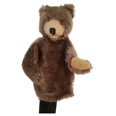Vintage Steiff Bear Hand Puppet -