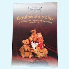 Livre Boules de poils, le Meilleur de la peluche française 1876-2006 par Samy Odin (bilingual)