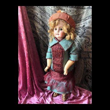 Very expressive doll by Bähr & Pröschild #224 in size 10