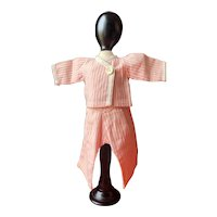 "GL ""Bonsoir"" pajama for Bleuette doll possibly 1930's"