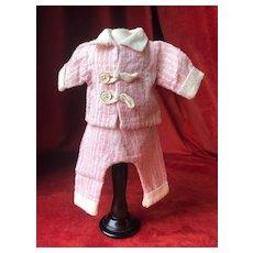 """GL """"Huit heures"""" pajama for Bleuette winter 1926/27"""