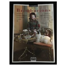 "Bilingual book ""Brimborions"" accessories and other trinkets for fashion dolls by Samy Odin Chérubins edition"