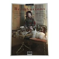 """Bilingual book """"Brimborions"""" accessories and other trinkets for fashion dolls by Samy Odin Chérubins edition"""