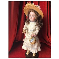 Endearing German Heinrich Handwerck dolly face size 2 1/4