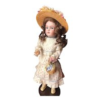 Endearing German Heinrich Handwerck dolly face size 2 1/4