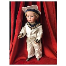 """Very desirable 19"""" Heubach Gebruder character #10532 in size 8"""