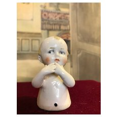 Very unusual cute German half figure Kewpie look-a-like!