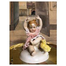 Lovely German Porcelain figure by Karl Ens