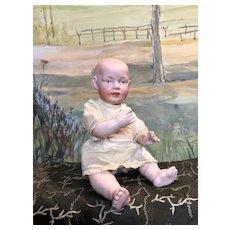 Pensive unusual German Franz Schmidt baby character # 1267-23