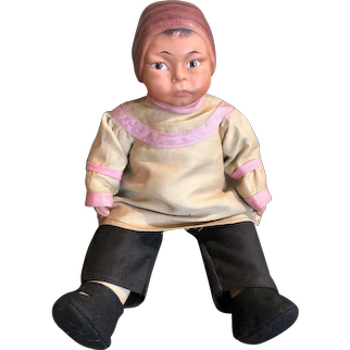 Very rare early chinese baby Horsman doll marked EIH (c)1911