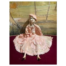 """French 31"""" Boudoir doll from the 30's"""
