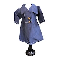 G-L Navy blue coat for Bleuette from the WWII years