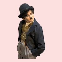 Charlie Chaplin by R. J. Wright