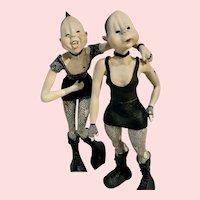 Cabaret Girls by Tina Kammerbeek