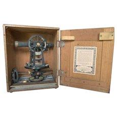 C.L. Berger & Sons, Inc. Vintage Surveying Instrument