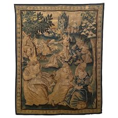 Flemish Tapestry 19th Century