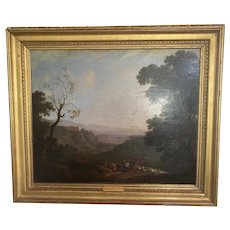 18th c Italian Landscape Painting