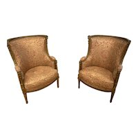 19th Century French Giltwood Chairs