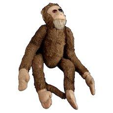 Vintage Merrythought monkey / chimp, c1930's