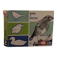 Vintage birds of Britain book, 1960s