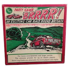 Vintage Brrrr! Party Game, driving, PGP