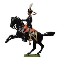 Vintage Britain's lead soldier, horseback cavalry, Bombay