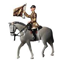 Vintage Britain's lead soldier, horseback cavalry