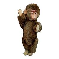 Vintage miniature Schuco Yes / No monkey toy