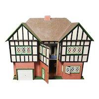 Large vintage mock tudor dolls House, c1940s